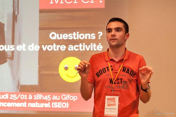 Arnaud GÉLÉBART - Consultant SEO
